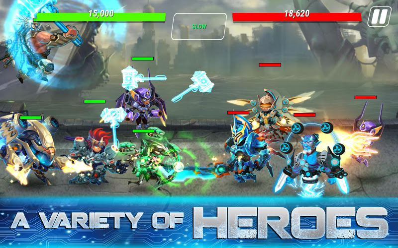 Heroes Infinity: God Warriors -Action RPG Strategy Screenshot 4