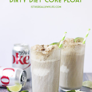 Dirty Diet Coke Float Recipe