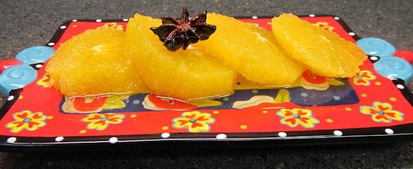 Orange Slices W/star Anise Thai-style Recipe