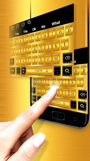 Gold Keyboard 10001039 1