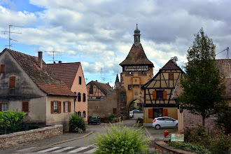 Photo: We arrive in Riquewihr in the middle of Alsace - essentially unchanged since the 1500's