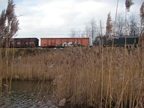 Photo: ...a tu pociąg za pociągiem