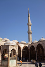 Photo: Blue Mosque Courtyard