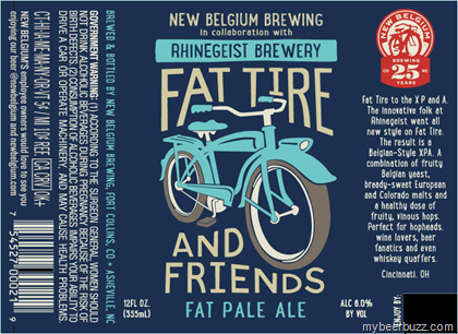 Logo of Fat Tire & Friends Fat Pale Ale