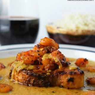Swordfish and Shrimp Caribbean Curry