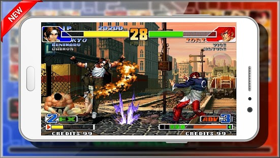 Guide King Of Fighters 98 - náhled