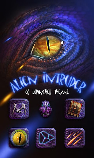 Alien Intruder Launcher Theme