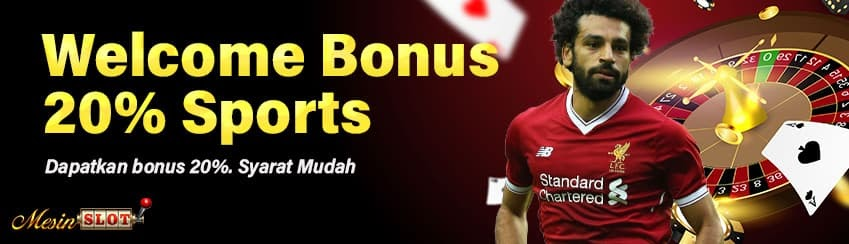 Welcome Bonus 20% Sportsbook