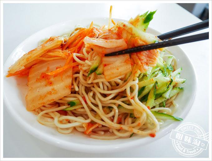良麵館韓式泡菜涼麵