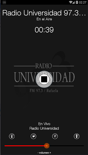 Radio Universidad 97.3 Rafaela  screenshots 1