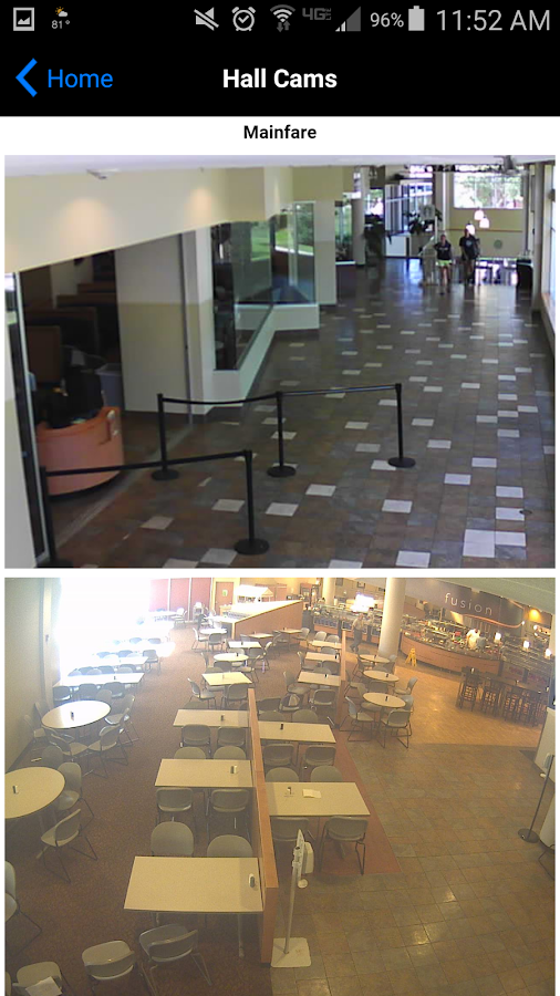 URI Dining Services- screenshot