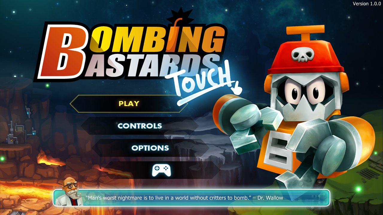 Bombing Bastards: Touch!- screenshot