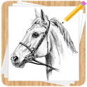 How to Draw Horses - Easy Drawing Step by Step icon