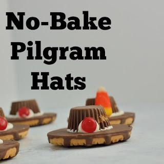 No-Bake Pilgrim Hat Cookies