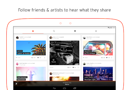 SoundCloud - Music & Audio Screenshot