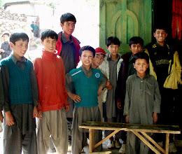 Photo: school kids in Rupal