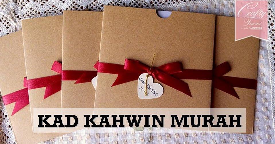kad-kawin-murah