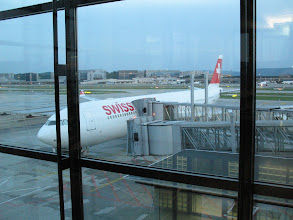 Photo: Swiss Flight to Tel Aviv, Sunday, 8 June 2008, at 22.45h