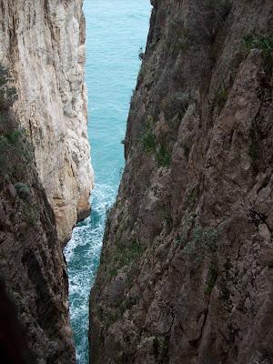 Il mare in grotta di adimar