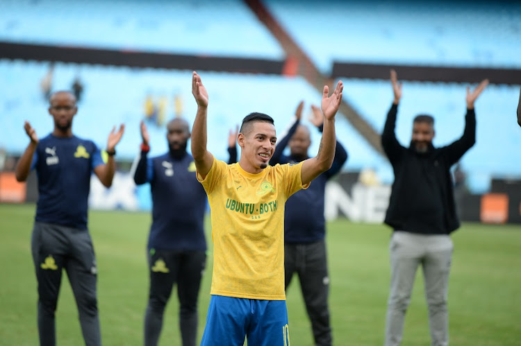 "Gaston Sirino of Mamelodi Sundowns remains at Chloorkop for now - unless Al Ahly ""come back with a better offer that shows respect for Sundowns,"" says team official Yogesh Singh."