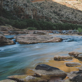 The Salt River Canyon by Bryan Snider - Landscapes Waterscapes ( water, arizona canyons, landmarks, arizona, canyon, apache, rivers, salt river, river )