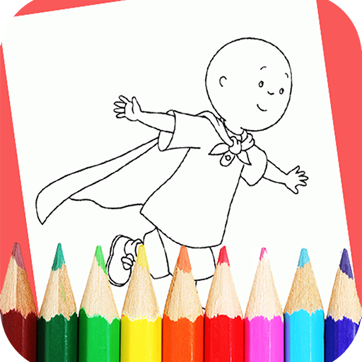 App Insights: How to color Caillou coloring Book | Apptopia