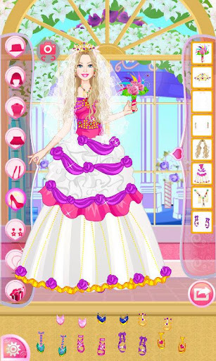 Mafa Colorful Bride Dress Up