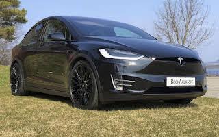 Tesla X75d Rent Rogaland