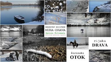 Photo: Retervat biosfere, Općina Pitomača, rijeka Drava i Širinski otok...