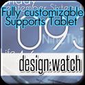 design:watch widget&clock icon