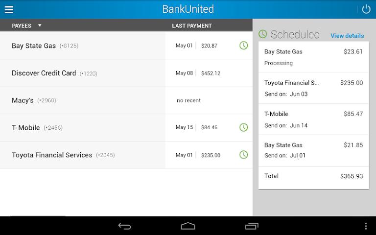 android BankUnited Screenshot 13