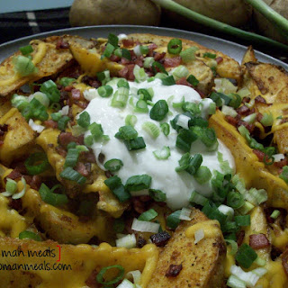Loaded Crispy Potato Wedges