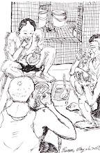 Photo: 吃牢飯2012.05.26鋼筆 牢飯不用錢 全國人民養 沒有美味餐 只有大鍋炒