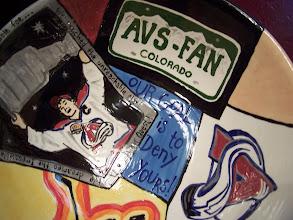 Photo: Avs Fan Collage Bowl