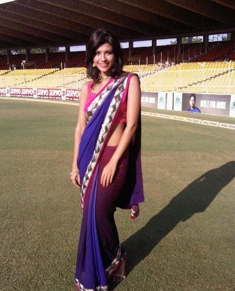 Archana Vijaya in saree, Archana Vijaya, Archana Vijaya IPL, Archana Vijaya WIki, Archana Vijaya Twitter, Archana Vijaya facebook