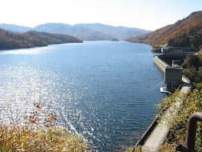 Photo: 展望臺から有峰湖/ダム