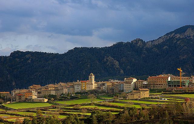 Situado al norte de Solsona, en el valle de Lord, al pie de la sierra de Port del Comte. Foto: Lluís de la Presa