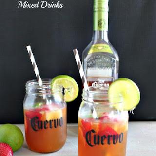 Lemonade Teagarita Mixed Drinks.