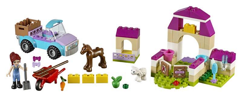 Contenido de Lego® 10746 Maletín de Granja