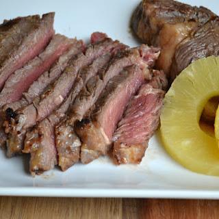 Pineapple-Marinated Steak.