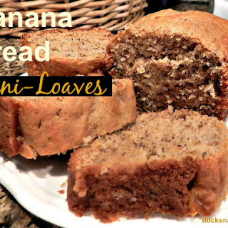 Banana Bread Mini-Loaves