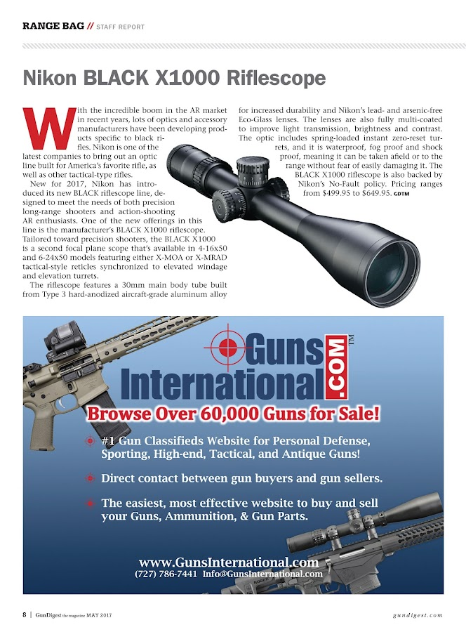 Gun Digest The Magazine- screenshot