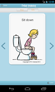 One Step at a Time Toilet Tips- screenshot thumbnail