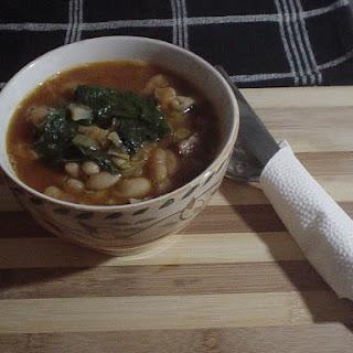 Pork, Bean, and Greens Soup Recipe
