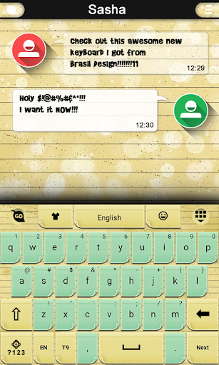 Sticky Notes Keyboard