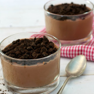 Boozy Triple Chocolate Pudding