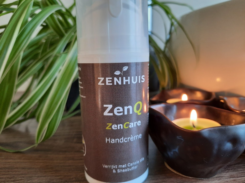 zenhuis zenq handcrème natuurlijke huidverzorging