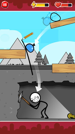 Screenshot for Funny Ball : Popular draw line puzzle game in United States Play Store