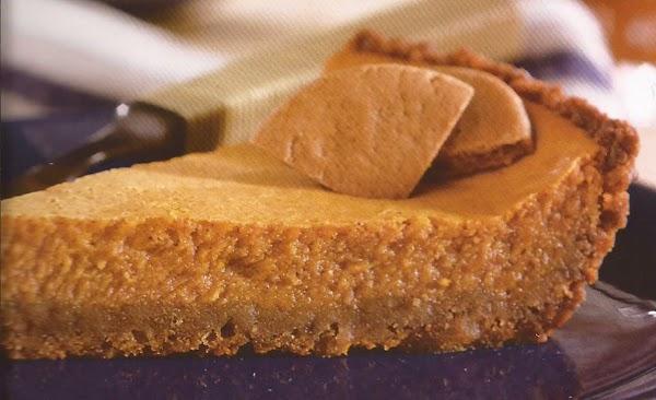 Ginger Spiced Pumpkin Pie Recipe