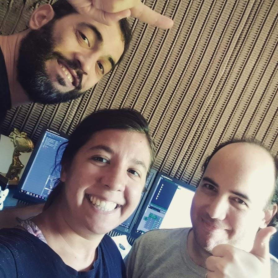 De izquierda a derecha: Guillermo Gatti. Sofía Viglioglia y Jonathan Smeke.